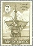 Sellos del Mundo : Europa : España : ESPANA 1930 532 Barcos España: Carabela Santa Maria NUEVO