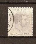 Sellos del Mundo : America : Cuba : Alfonso XII