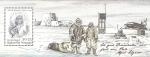 Sellos del Mundo : Europa : Groenlandia : Homenaje a Alfred Wegener, científico