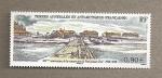 Sellos del Mundo : Europa : Territorios_Antárticos_Franceses : 100 Aniversario construcción puento Sta. Juana de Arco