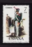 Sellos de Europa - España -  Uniformidad Militar VI