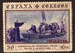 Sellos del Mundo : Europa : España : Despedida de Cristobal Colon Puerto de Palos