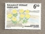 Sellos del Mundo : Europa : Groenlandia : Rhodiola rosea