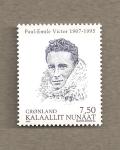Sellos de Europa - Groenlandia -  Paul-Emile Victor, explorador