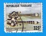 Sellos del Mundo : Africa : Togo : Instrumentos Musicales