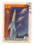 Sellos de Europa - Rusia -  Carrera Espacial