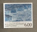 Sellos del Mundo : Europa : Groenlandia : Fiordo Ilulissat, patrimonio de la humanidad