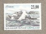 Sellos del Mundo : Europa : Groenlandia : Patrullera Tritón