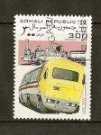Sellos del Mundo : Africa : Somalia : Trenes / Advanced Passenger Train