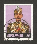 Sellos del Mundo : Asia : Brunei : sultan hassanal bolkiah