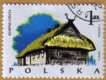 Sellos del Mundo : Europa : Polonia : Casa Tipicas KURPIE-CHATA