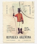 Sellos de America - Argentina -  29 de Mayo Día del Ejército