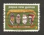 Sellos del Mundo : Oceania : Papúa_Nueva_Guinea : independencia gubernamental, mascaras