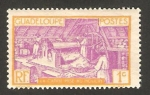 Sellos del Mundo : America : Guadeloupe : Trabajando la caña de azúcar