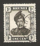 Sellos del Mundo : Asia : Brunei : sultán omar ali saifuddin