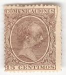 Sellos del Mundo : Europa : España : Alfonso XIII, Tipo Pelón. - Edifil 219