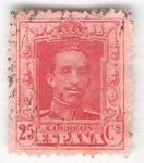 Sellos de Europa - España -  Alfonso XIII,Tipo Vaquer. - Edifil 317