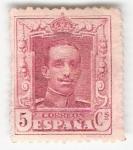 Sellos del Mundo : Europa : España : Alfonso XIII, Tipo Vaquer. - Edifil 312