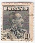Sellos del Mundo : Europa : España : Alfonso XIII, Tipo Vaquer de perfil. - Edifil 321