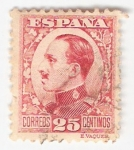 Sellos del Mundo : Europa : España : Alfonso XIII, Tipo Vaquer de perfil. - Edifil 495
