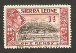 Sellos del Mundo : Africa : Sierra_Leona : George VI, Puerto Freetown