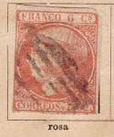 Sellos del Mundo : Europa : España : Isabel II Edicion 1852