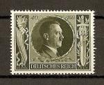 Sellos de Europa - Alemania -  III Reich / 54 Aniversario de Hitler