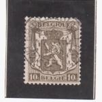 Sellos de Europa - Bélgica -  León Heraldico
