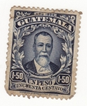 Sellos del Mundo : America : Guatemala : Justo Rufino Barrios Ed 1926