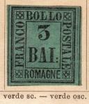 Sellos del Mundo : Europa : Vaticano : Antigüa Provincia Papal  Ed 1859