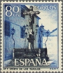 Sellos de Europa - España -  SERIE TURISTICA. PAISAJES Y MONUMENTOS