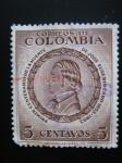 Sellos del Mundo : America : Colombia : 1er Centenario de la muerte de Jose Eusebio Caro