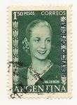 Sellos del Mundo : America : Argentina :  Eva Perón