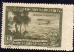Sellos del Mundo : Europa : España : ESPAÑA 1930 584 Sello Nuevo Pro Union Iberoamericana Sevilla Correo Aereo Argentina Teodoro Fels 1ª