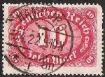 Sellos de Europa - Alemania -   ALEMANIA REPUBLICA WEIMAR