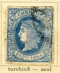 Sellos del Mundo : Europa : España : Isabel II Ed 1866