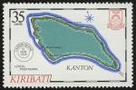 Sellos del Mundo : Oceania : Kiribati : KIRIBATI - Área protegida de las Islas Fénix