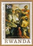 Sellos del Mundo : Africa : Rwanda : Rubens(1577-1540)