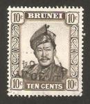 Sellos del Mundo : Asia : Brunei : sultan omar ali saifuddin