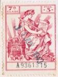 Sellos del Mundo : Europa : España : Aguila franco 1943