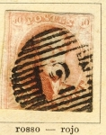 Sellos del Mundo : Europa : Bélgica : Leopoldo I, año 1849