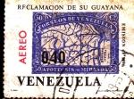 Sellos del Mundo : America : Venezuela : reclamacion guayana