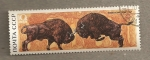 Sellos de Europa - Rusia -  Bisontes