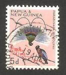 Sellos del Mundo : Oceania : Papúa_Nueva_Guinea : fauna, pájaro azul