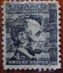 Sellos de America - Estados Unidos -  A.Lincon