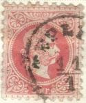 Sellos del Mundo : Europa : Austria : AUSTRIA 1867 (M37) Kaiser Franz Joseph - tipo I 5kr