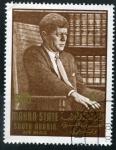 Sellos del Mundo : Asia : Yemen : Kennedy