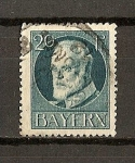 Sellos del Mundo : Europa : Alemania : Baviera / Luis III