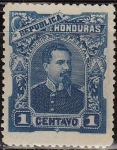 Sellos del Mundo : America : Honduras : Honduras 1891 Scott 51 Sello Nuevo Presidente Luis Bográn