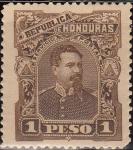 Sellos del Mundo : America : Honduras : Honduras 1891 Scott 61 Sello Nuevo Presidente Luis Bográn